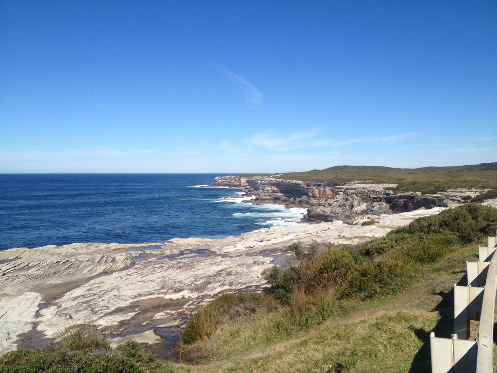 Across the Cliffs at Kurnell