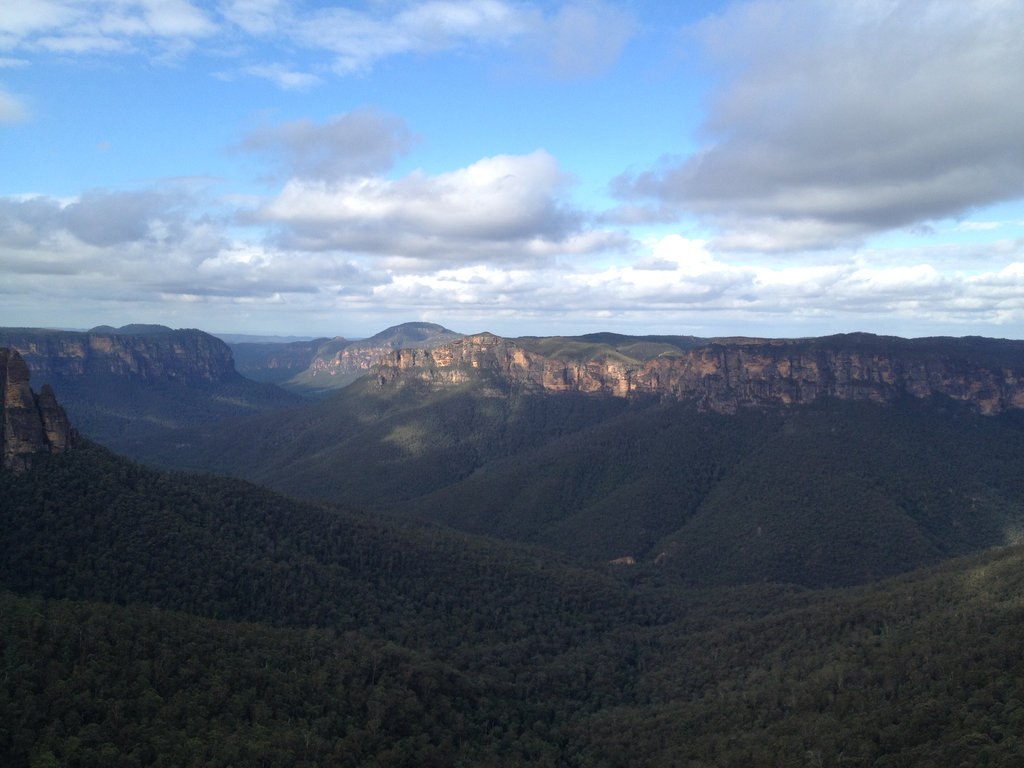 Govetts Leap to Evans Lookout